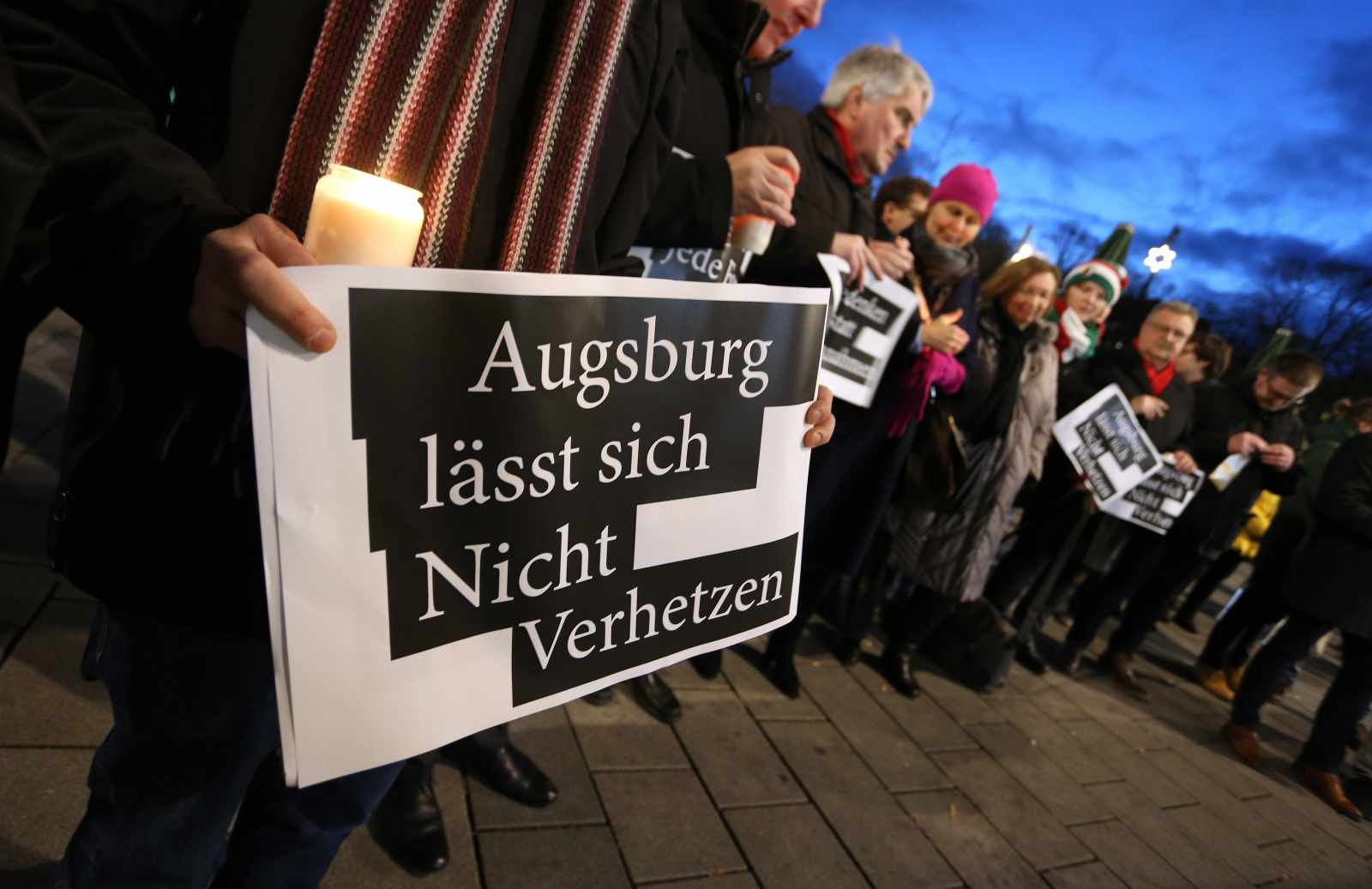 Demonstration in Augsburg