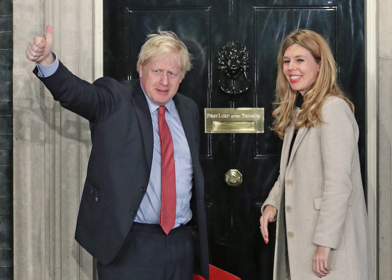 Boris Johnson und Carrie Symonds