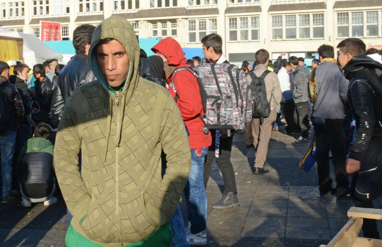 Asylsuchende in Hamburg