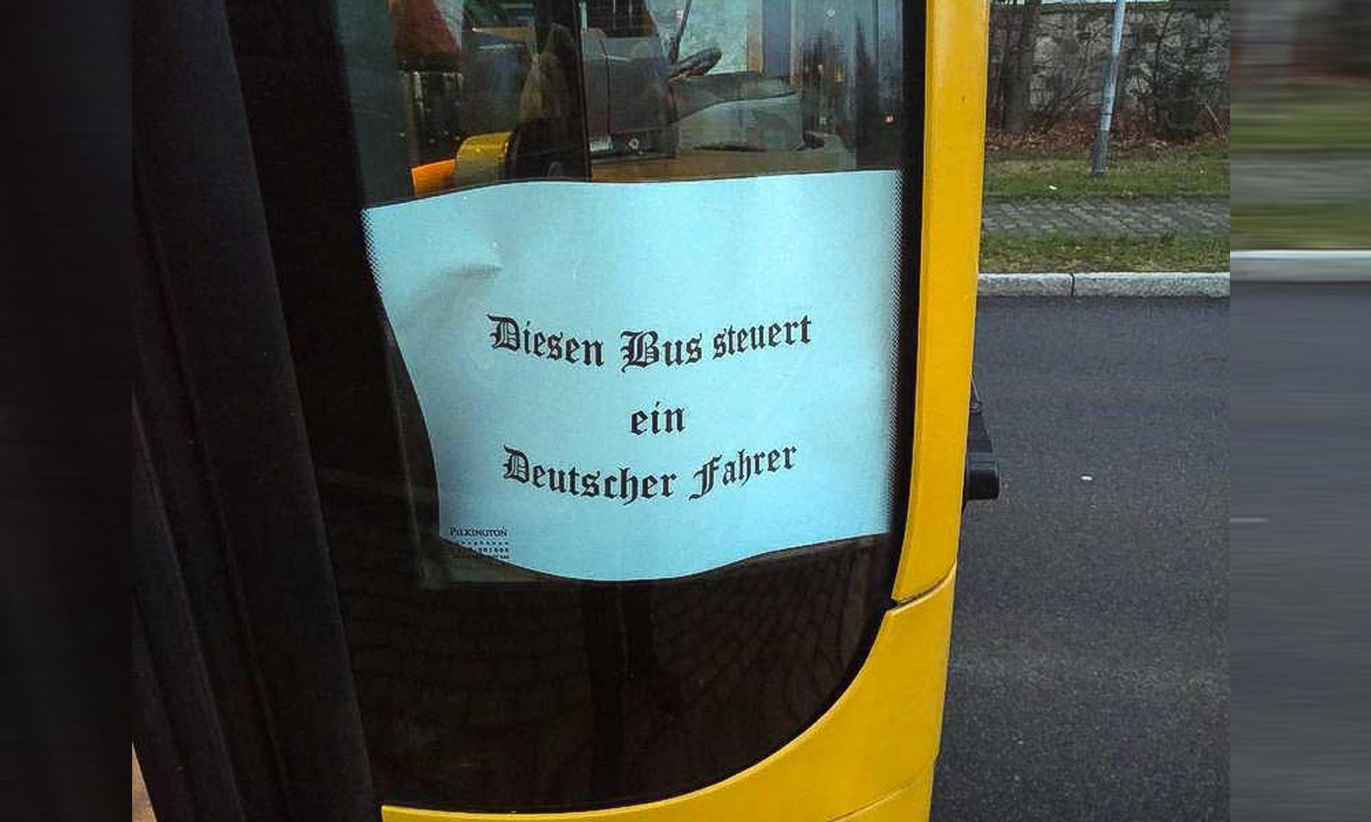 Busfahrer in Dresden