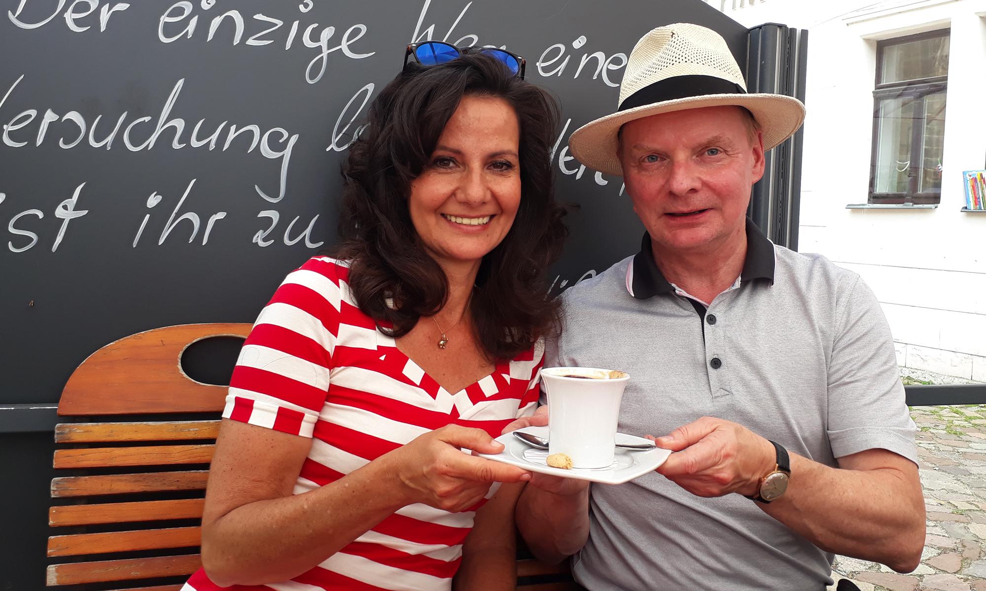 Katrin Huß und Uwe Steimle