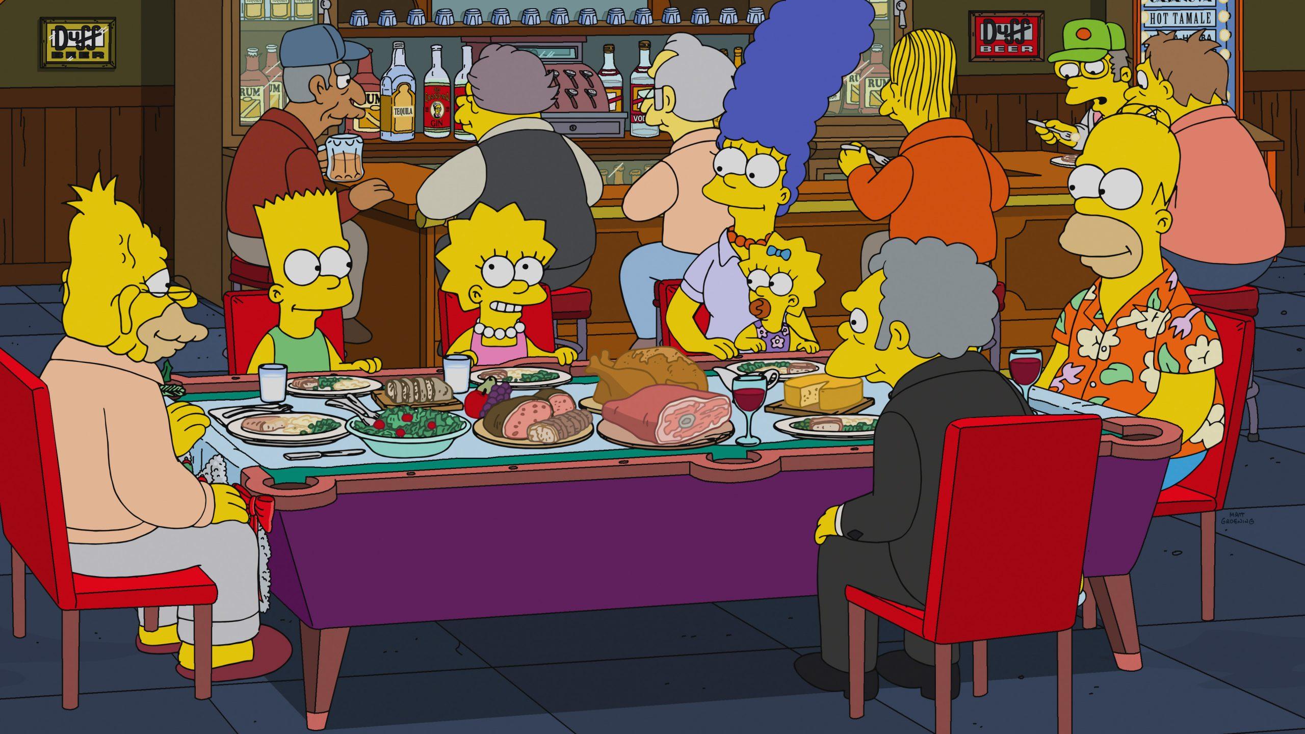 Die Zeichentrickfamilie der Simpsons Foto: picture alliance/Everett Collection