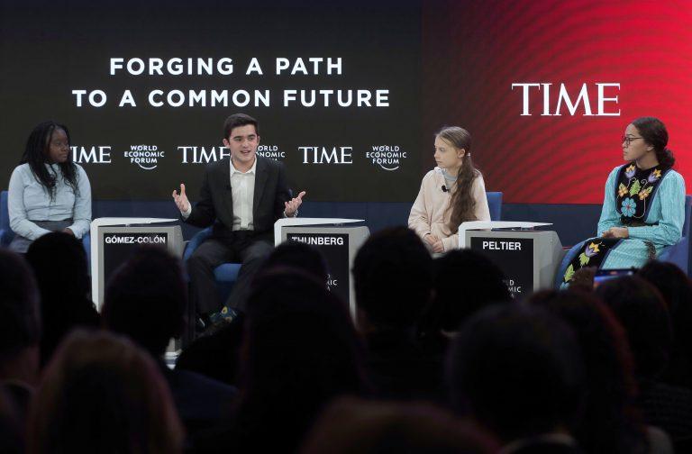 Greta Thunberg beim WEF