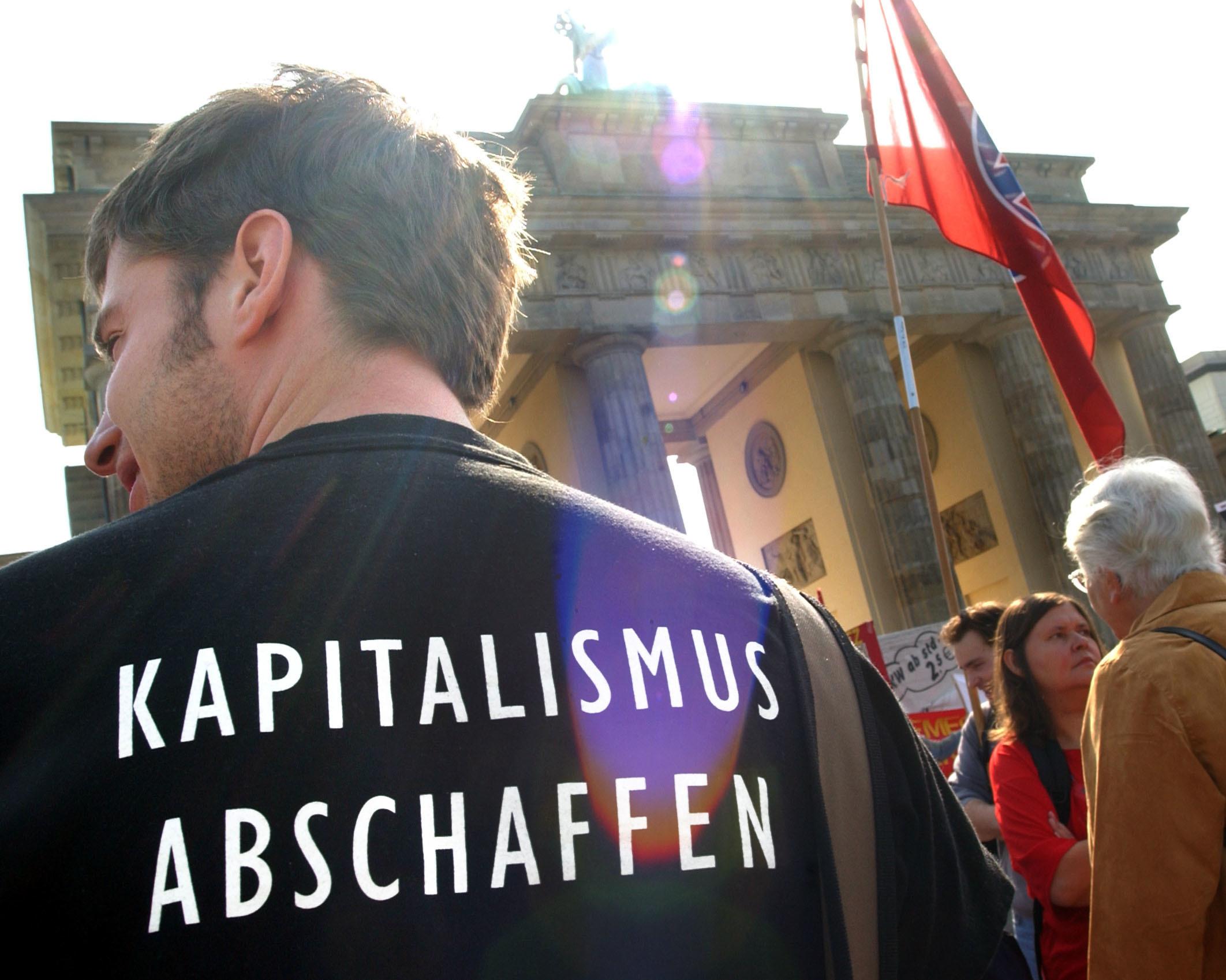 Kapitalismus: Mehrzahl glaubt, das herrschende Wirtschaftssystem schade mehr als es hilft Foto: dpa