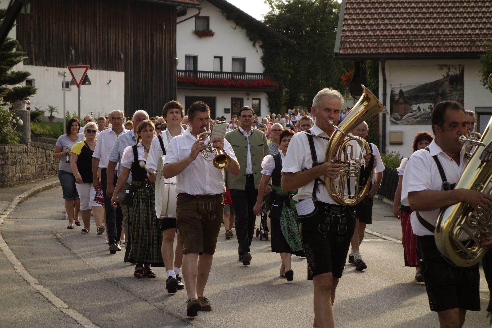 Dorffest in Zenting im Bayerischen Wald