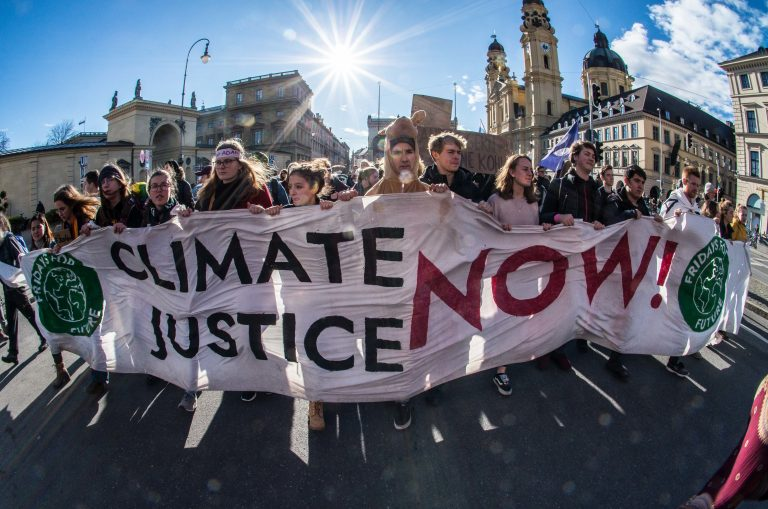 Fridays for Future Protest Against Siemens