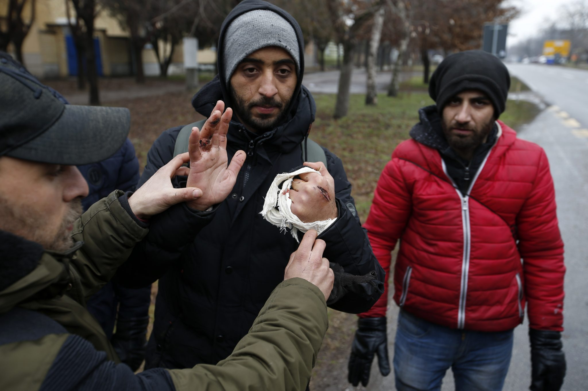 Serbia Hungary Migrants