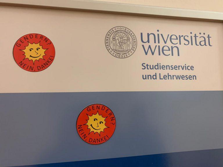 Gender-Kritik an Universität Wien