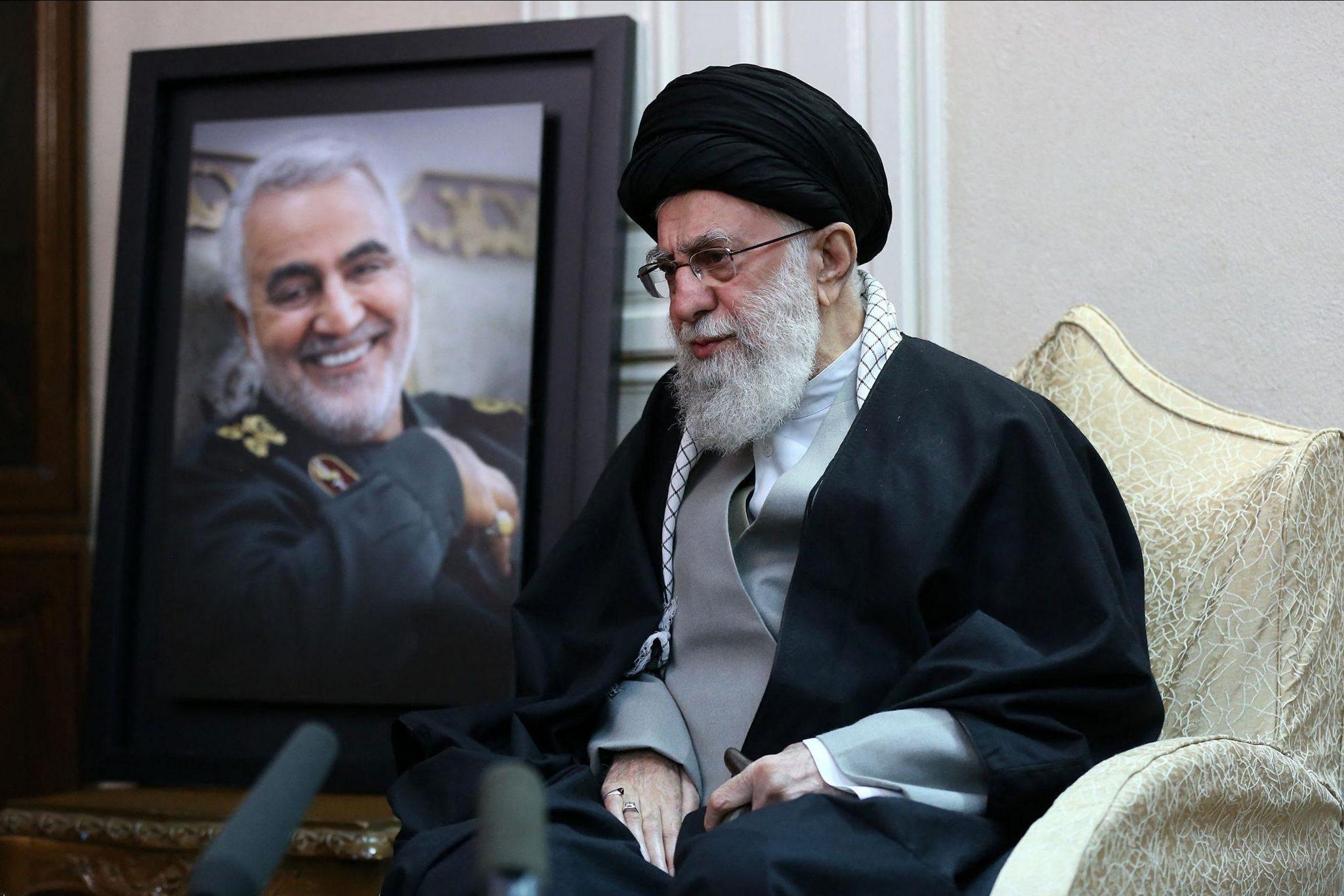 Supreme Leader Khamenei Visits the Soleimani Family