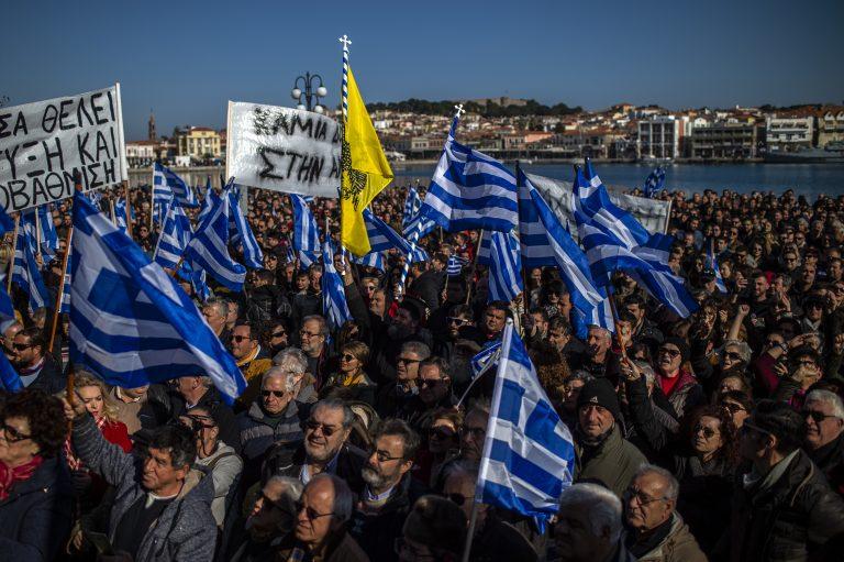 Volle Migrantenlager: Generalstreik auf griechischen Inseln