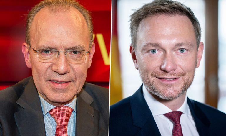 Christian Lindner (r.) und  Florian Gerster