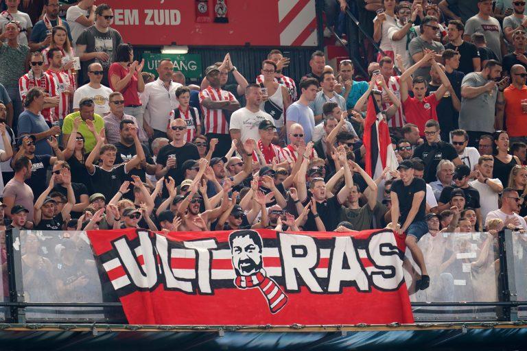 Fußballfans Holland