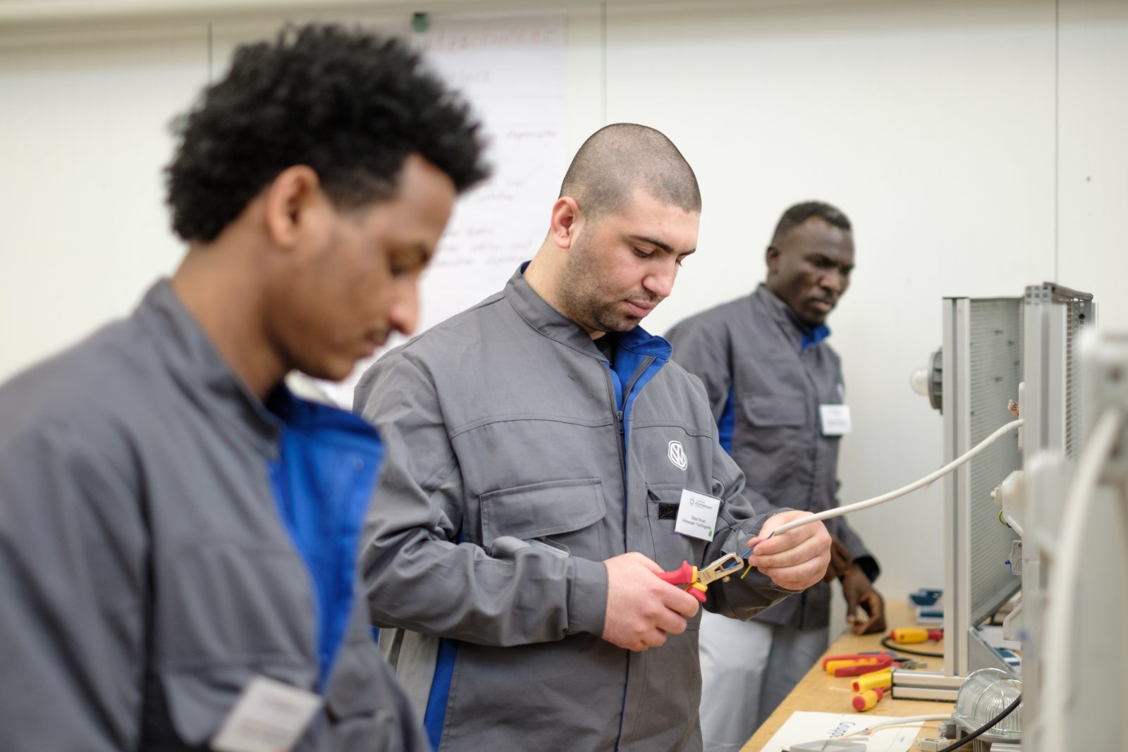 Flüchtlinge Arbeit