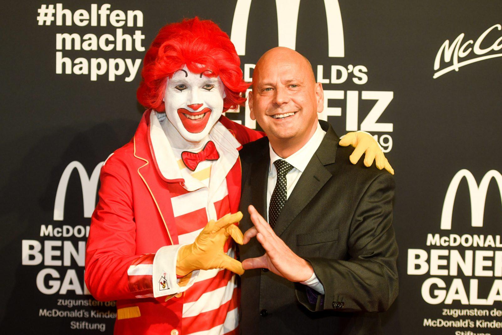Benefiz-Gala für die McDonald's Kinderhilfe Stiftung