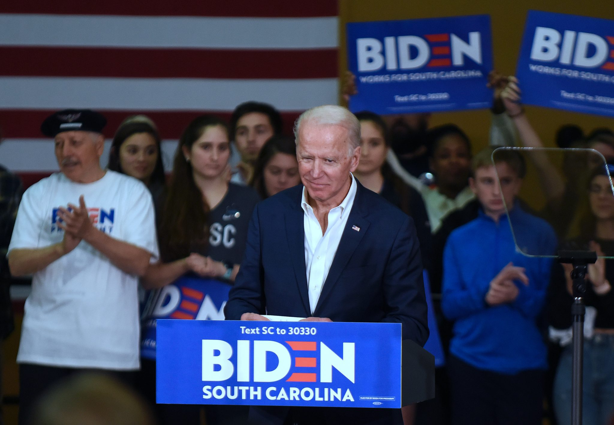 Joe Biden Campaigns in Charleston, US - 24 Feb 2020
