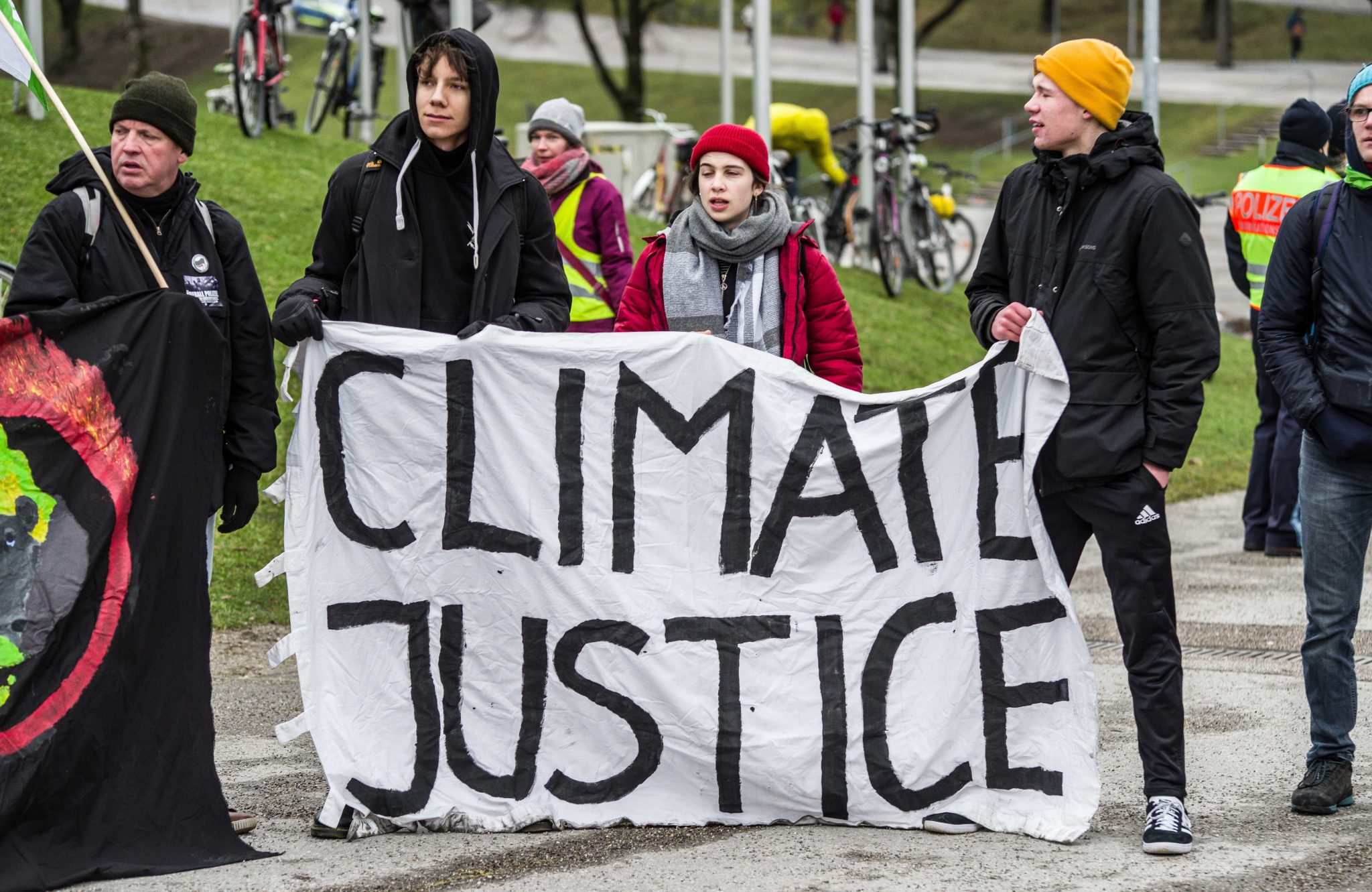 Fridays for Future Rally Against Siemens