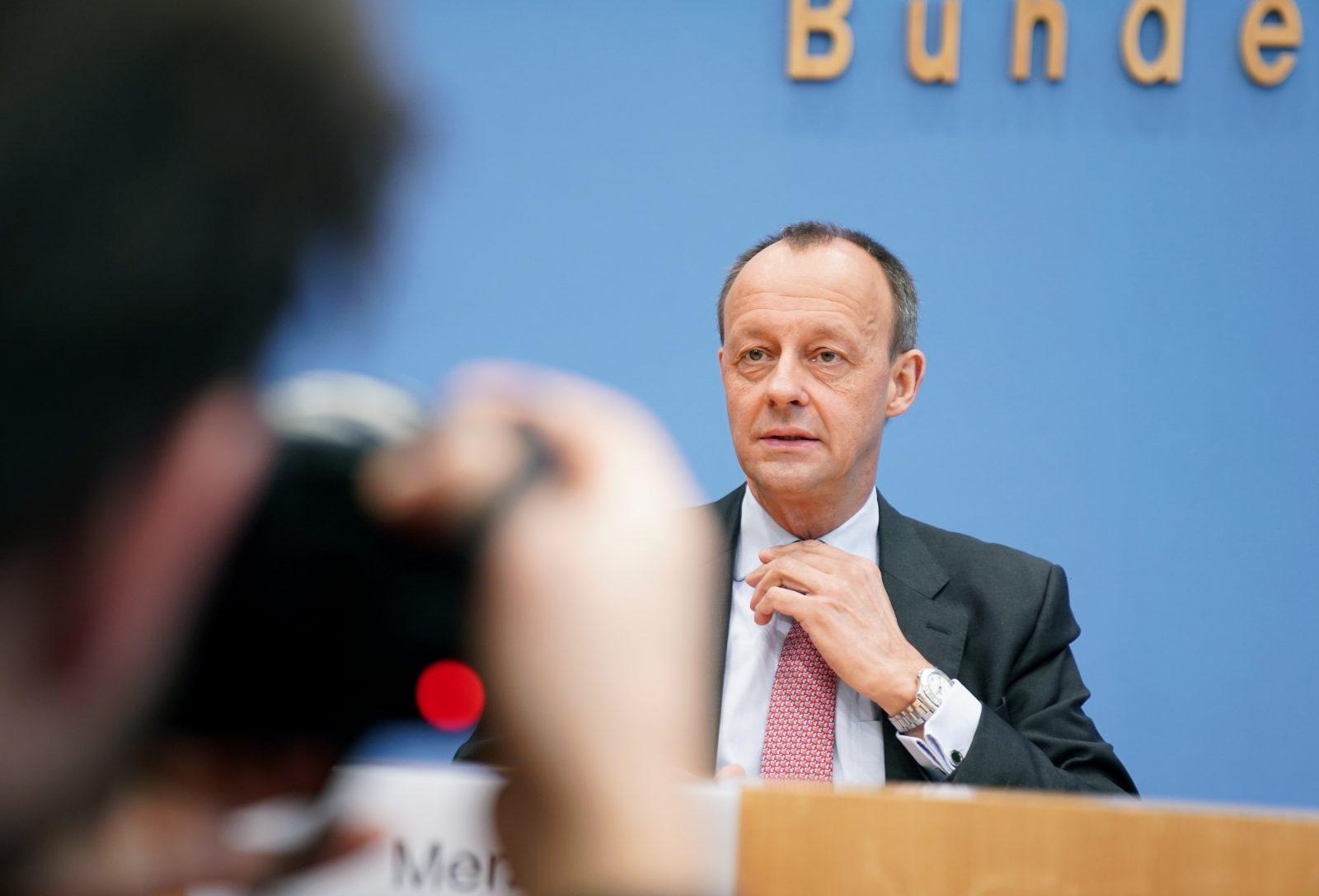 Pressekonferenz Merz