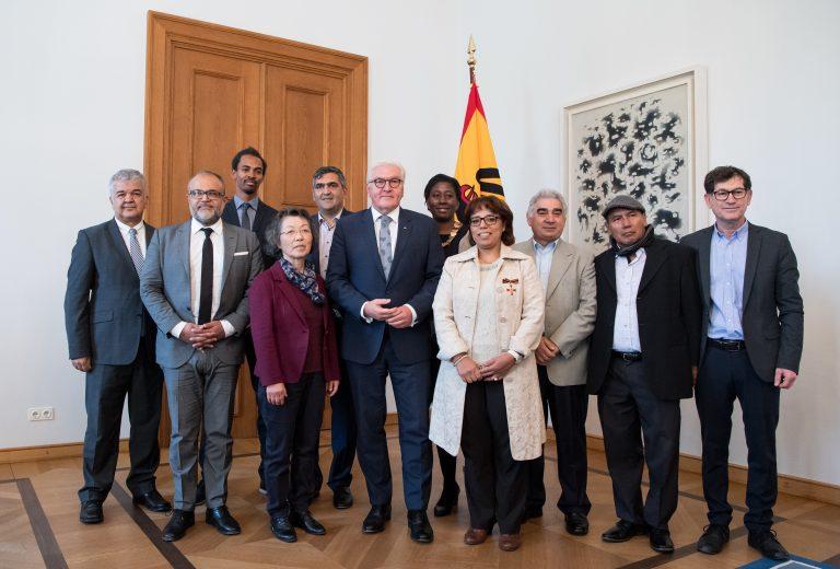 Bundespräsident Steinmeier trifft Migrantenorganisationen