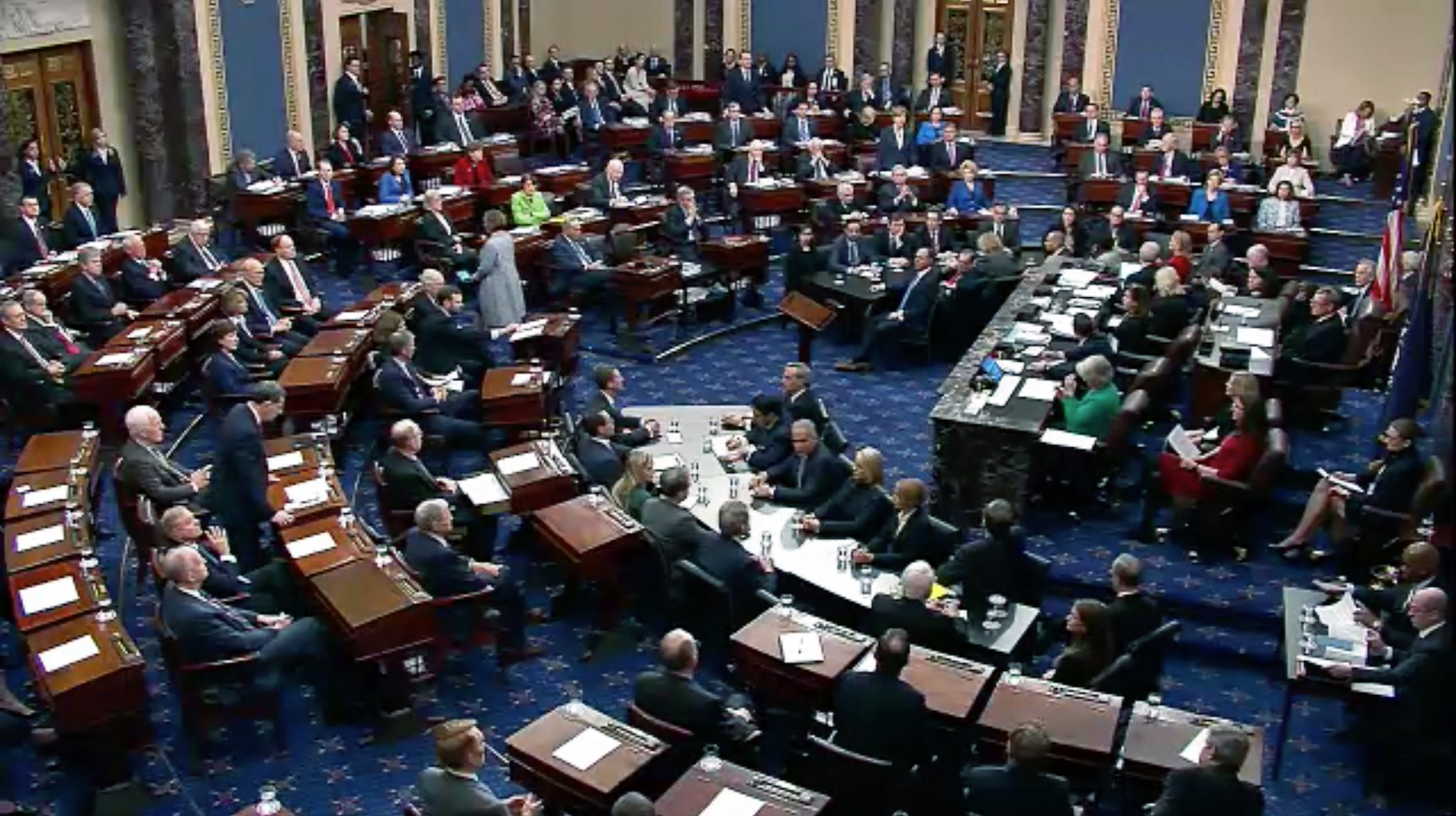 Trump Acquitted By Senate In Impeachment Trial - Washington