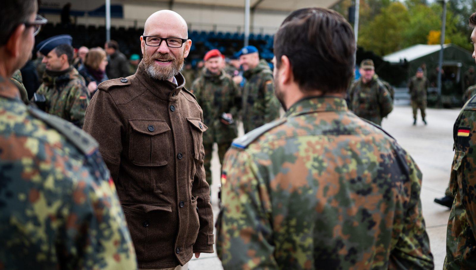 Informationslehrübung der Bundeswehr