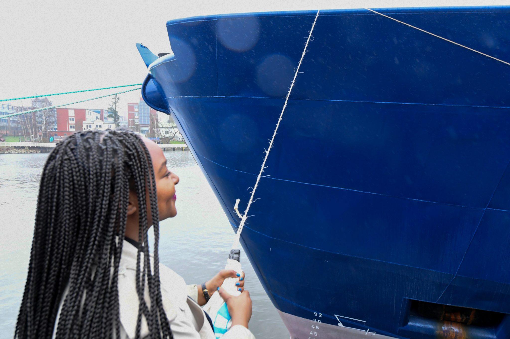 Taufe Rettungsschiff Sea-Watch 4