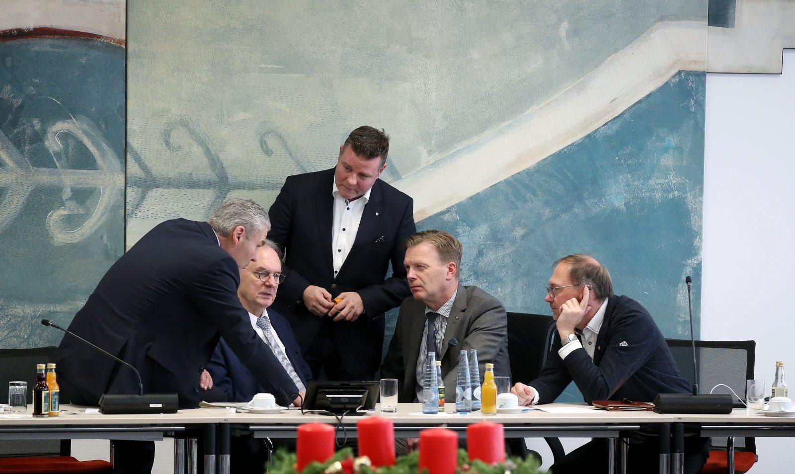 CDU arbeitet in Sondersitzungen den Fall Wendt auf