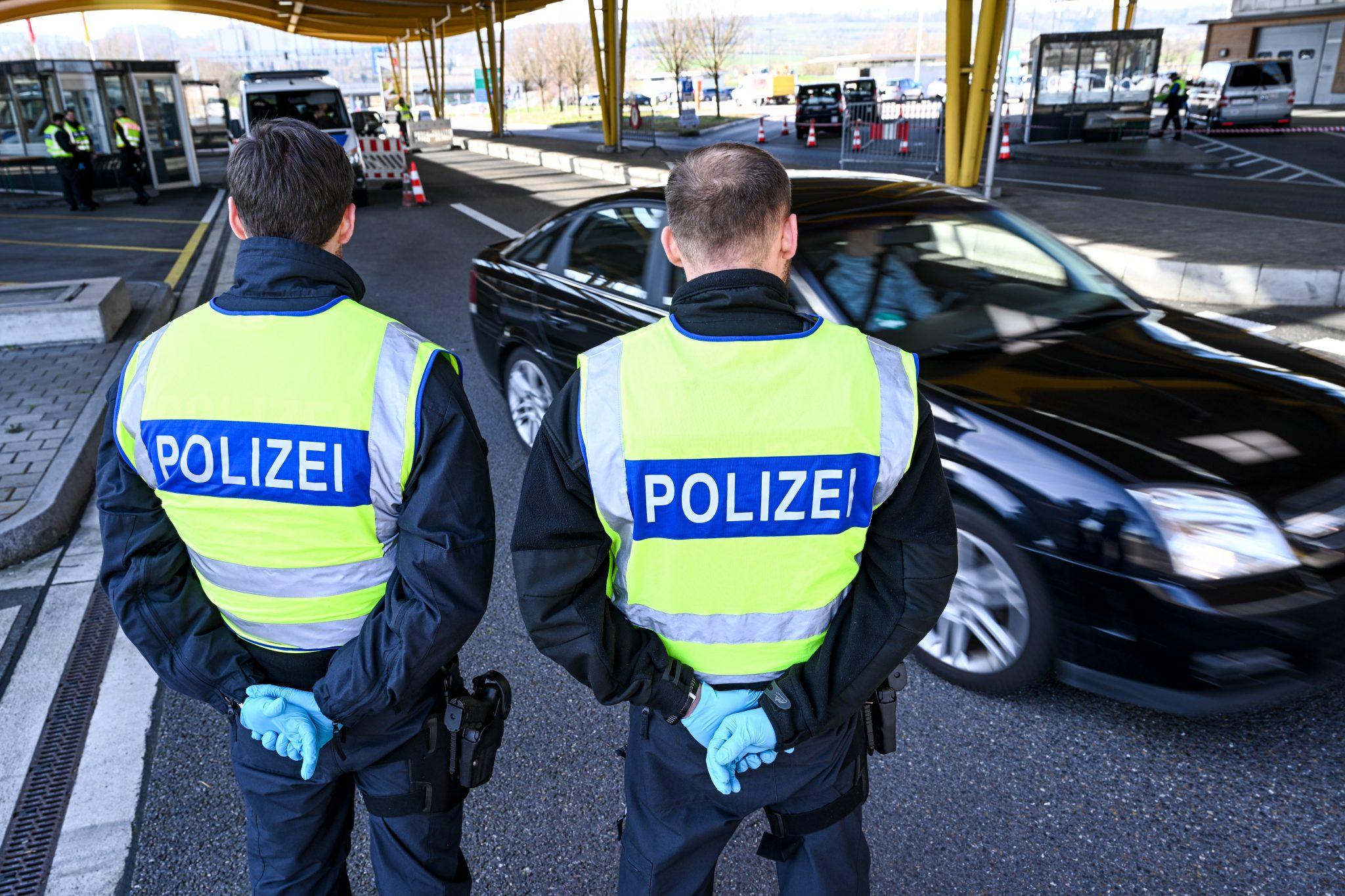 Corona-Grenzkontrollen in Baden-Württemberg