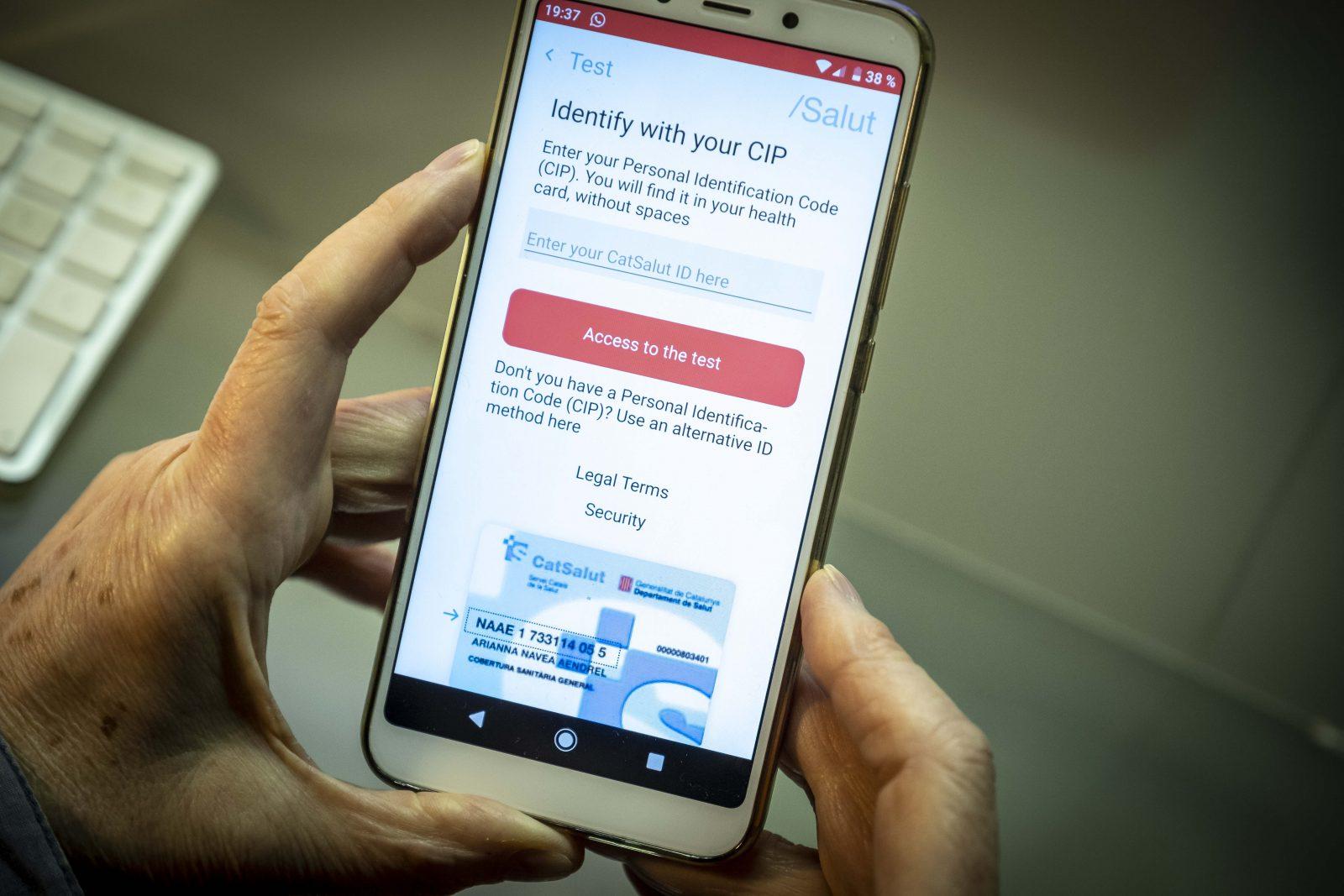 Smpartphone-App gegen Corona-Ausbreitung