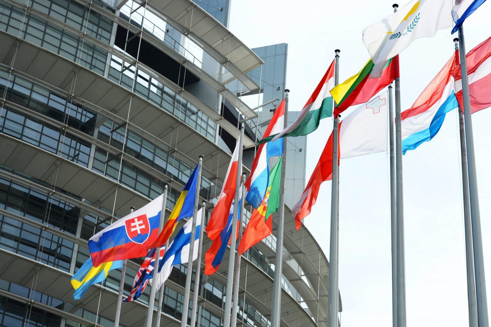Fahnen der EU-Mitgliedstaaten
