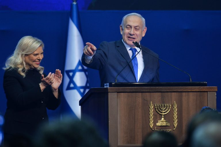 Israeli Exit Polls Show Netanyahu Lead