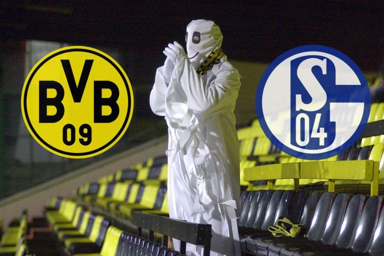Revierderby Borussia Dortmund-FC Schalke 04 wird ein GEISTERSPIEL wegen des grassierenden Coronavirus.
