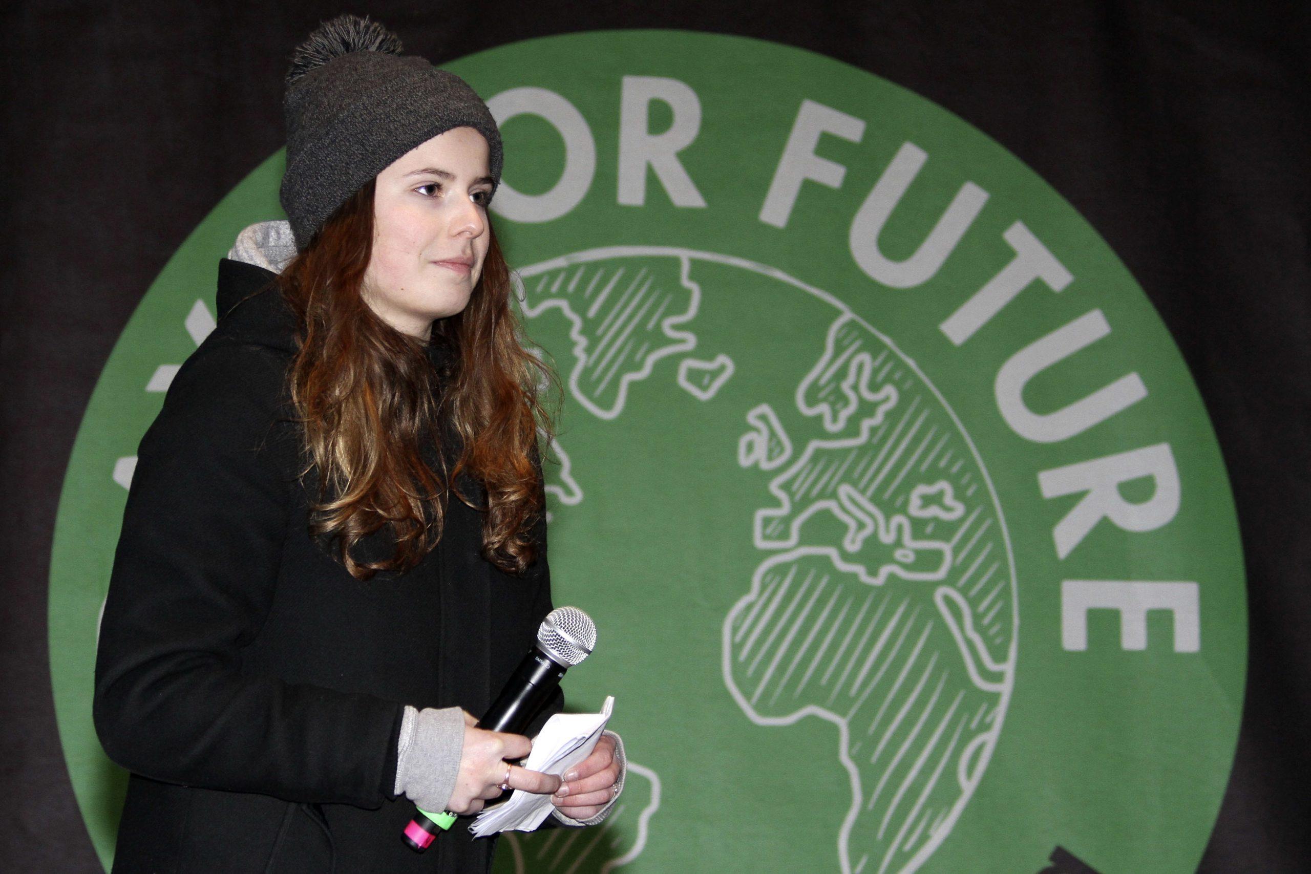 Die Klimaschützerin Luisa Neubauer will mit der