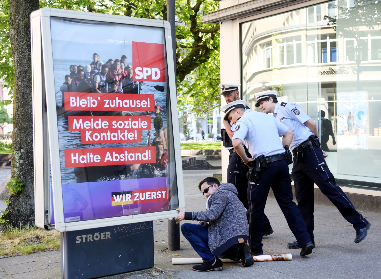 SPD-Fake-Plakat