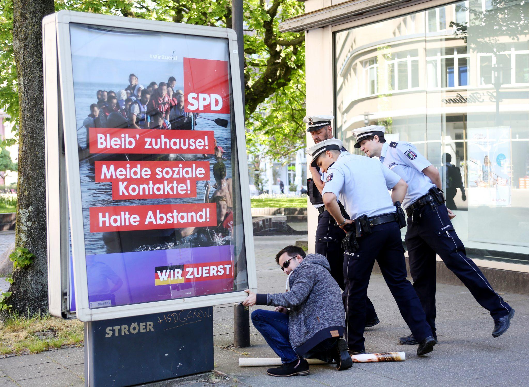 SPD-Fake-Plakat