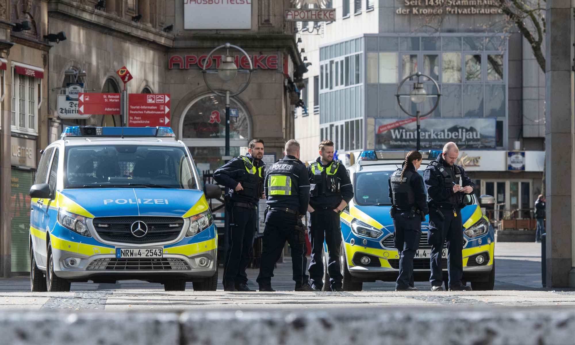 Polizei und Ordnungsamt