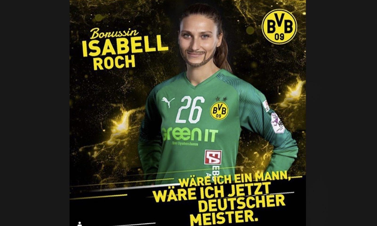 Handballern Isabell Roch
