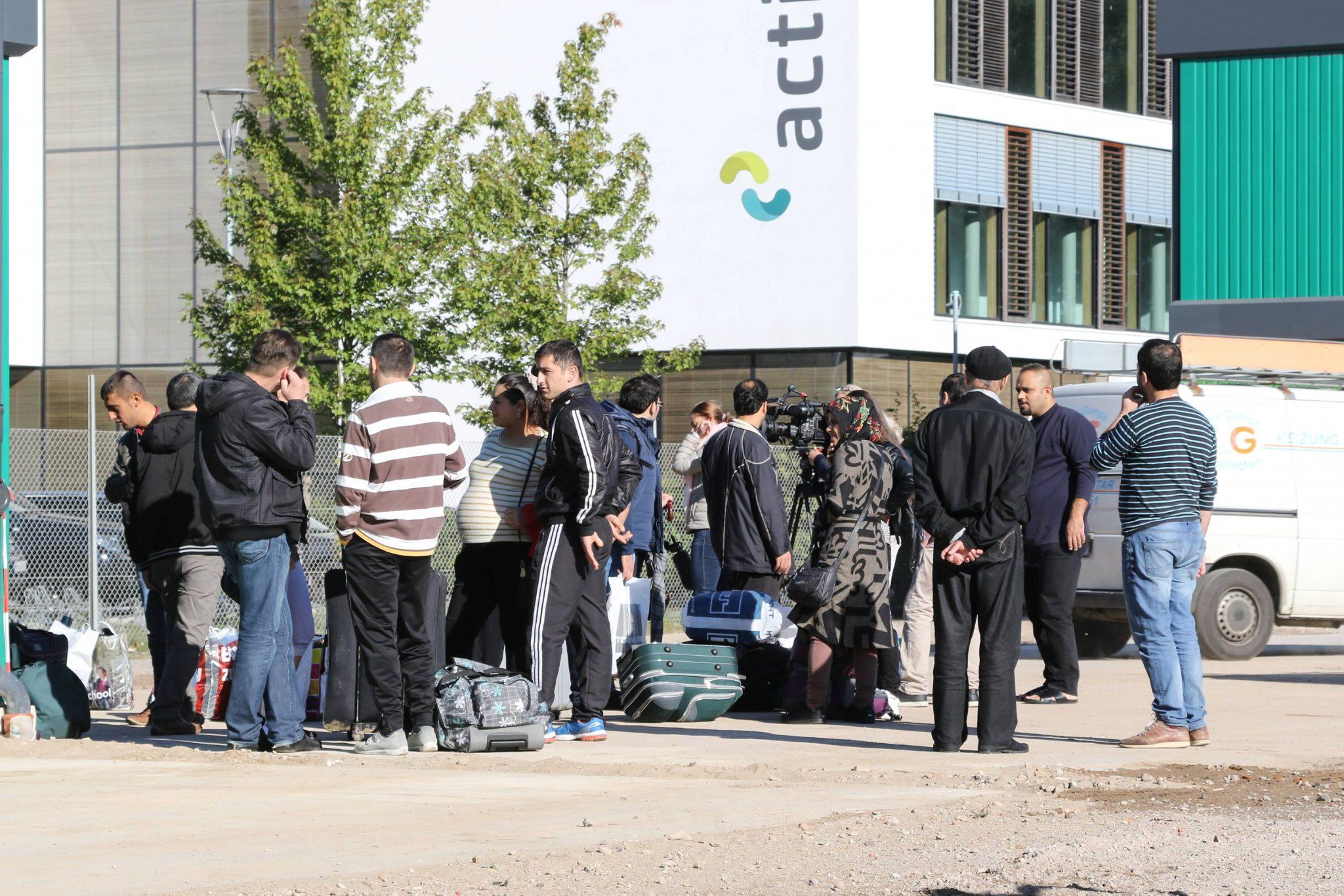 Asylsuchende in Bremen