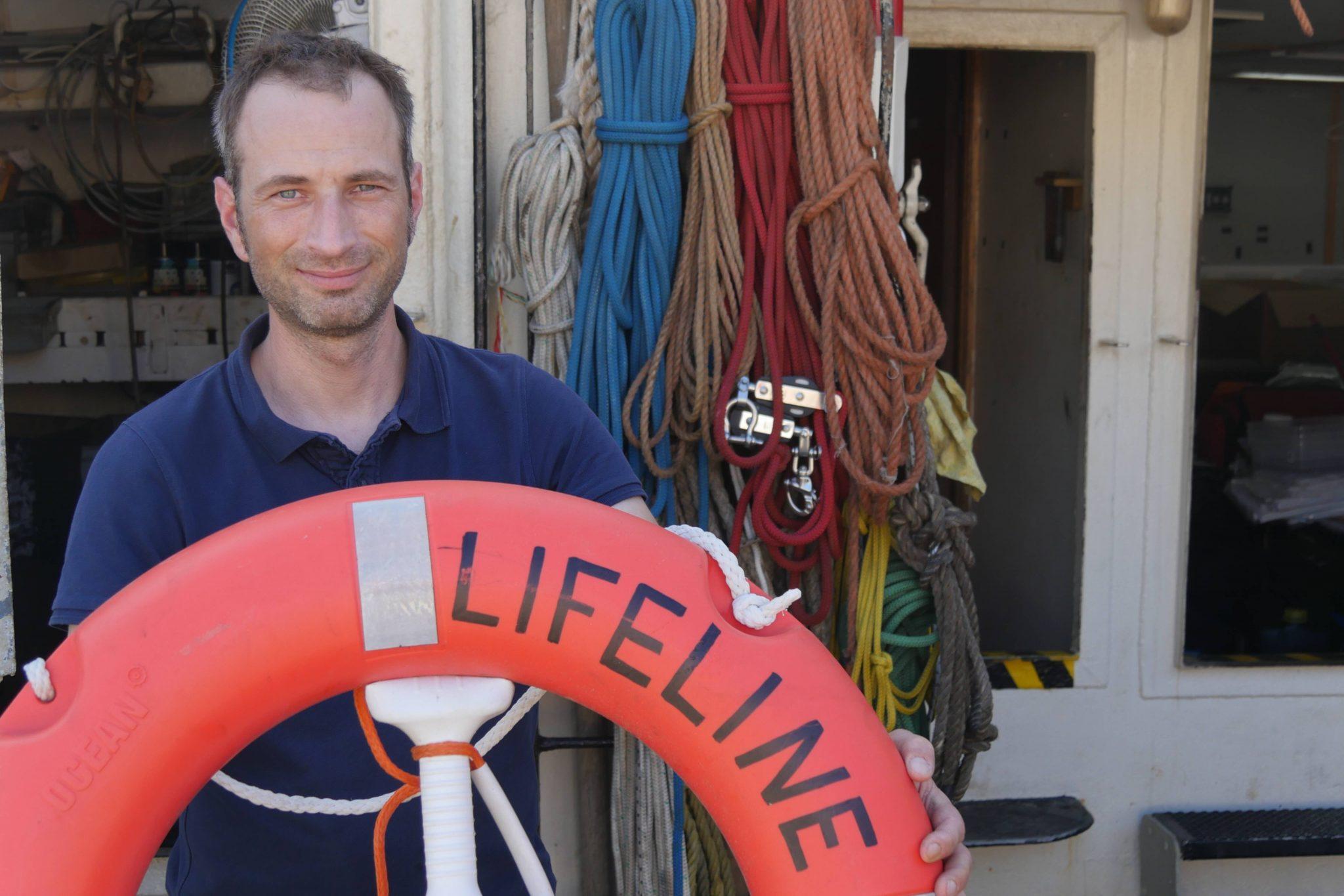 """Mission Lifeline""-Sprecher Axel Steier"