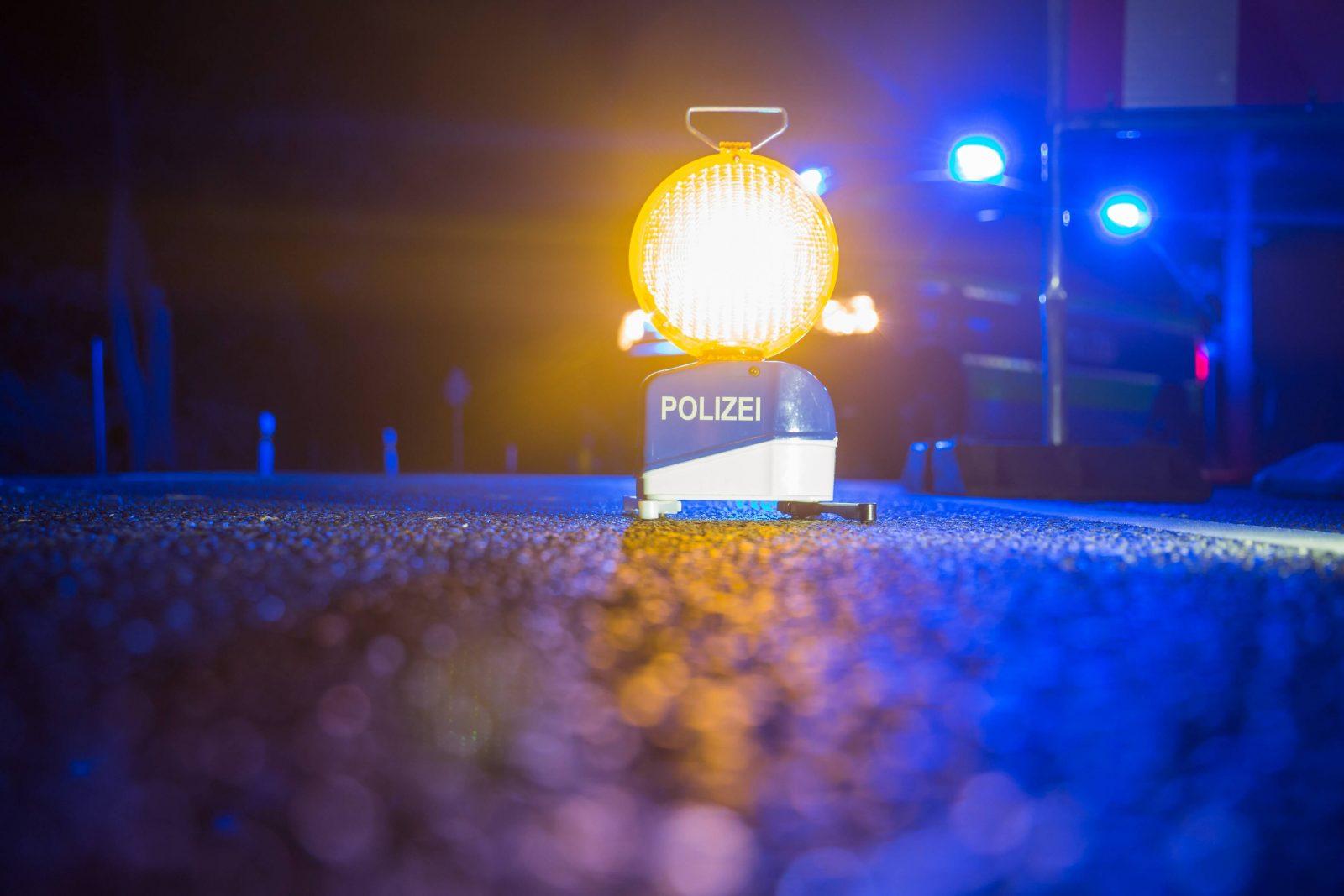 Nächtlicher Polizeieinsatz