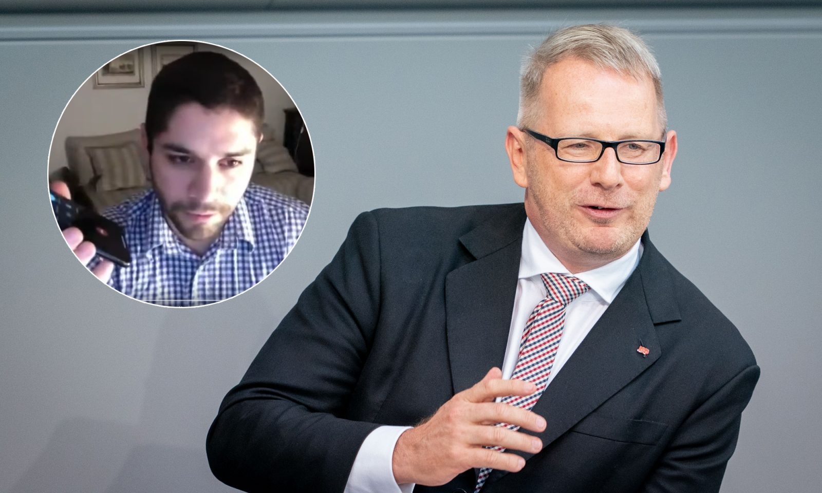 Johannes Kahrs (SPD, r.) und Klemens Kilic