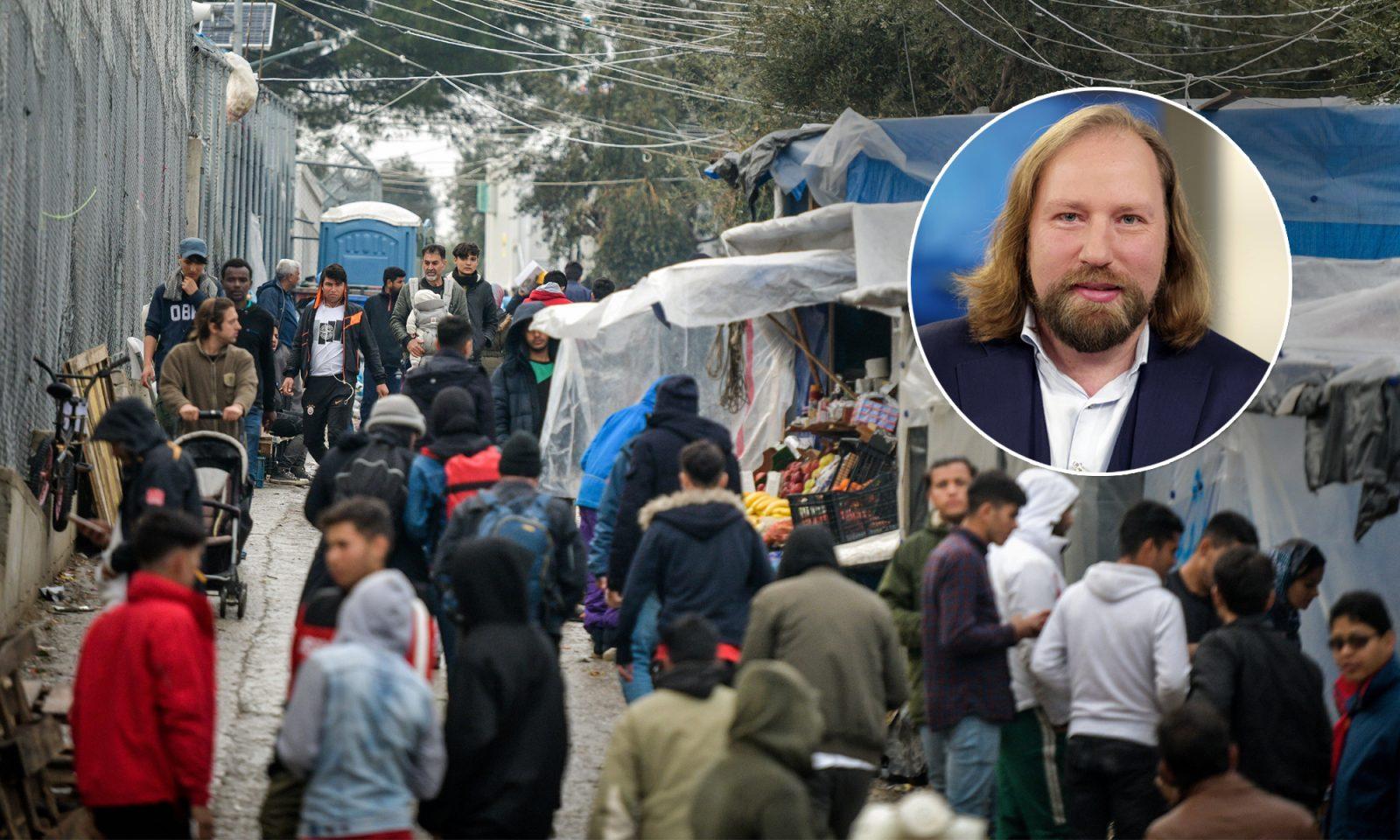 Asylcamp auf Lesbos, Grünen-Fraktionschef Anton Hofreiter
