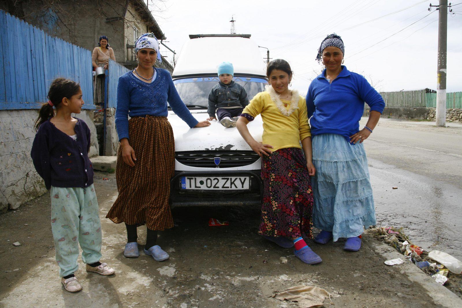 Familie in Rumänien