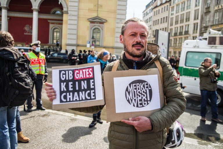 """""""Hygiene-Demo"""" in München"""