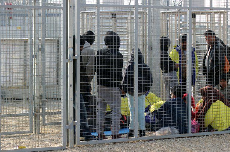 Asylsuchende in Röszke