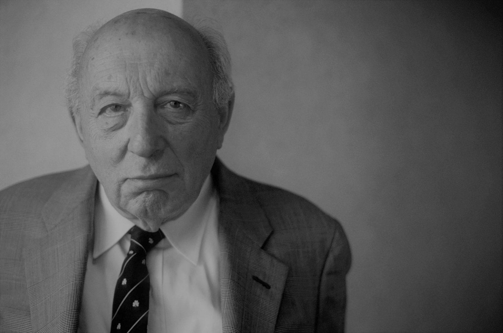 John Adalbert Lukacs, ecrivain. Photographie septembre 2006. ©Effigie/Leemage