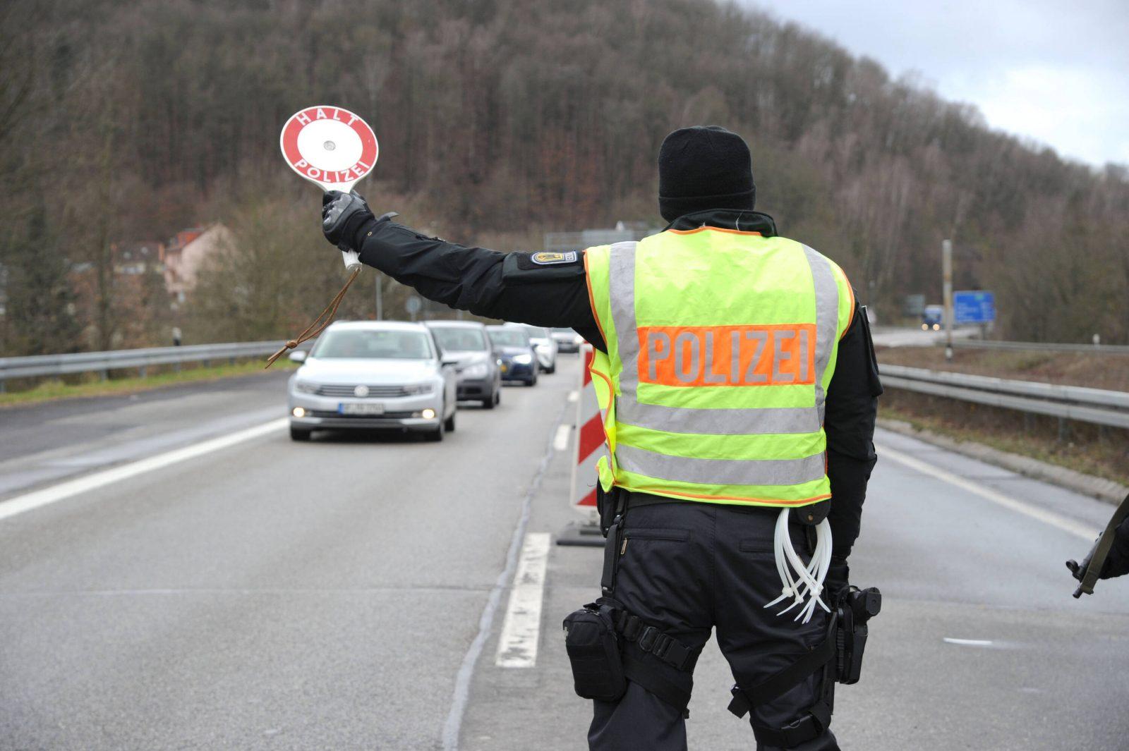 Grenzkontrollen in Saarbrücken
