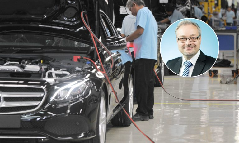 AfD-Abgeordneter Marc Bernhard, Mercedes-Produktion