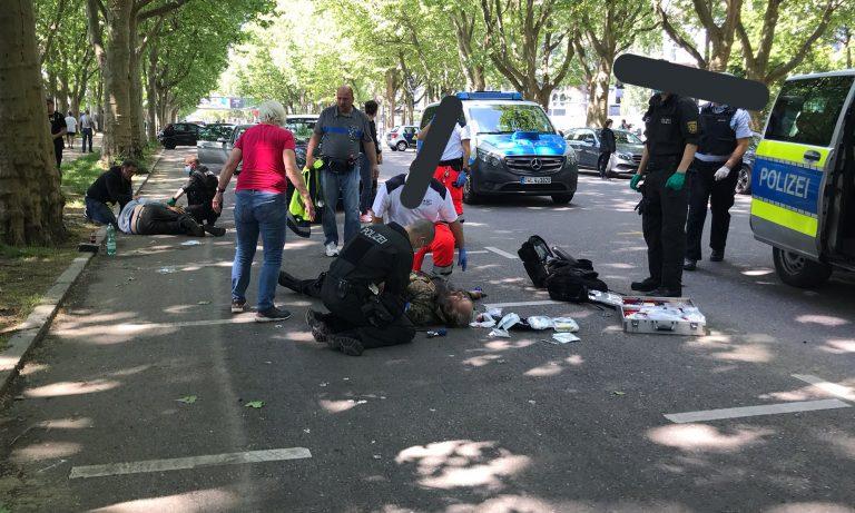 Verletzte in Stuttgart