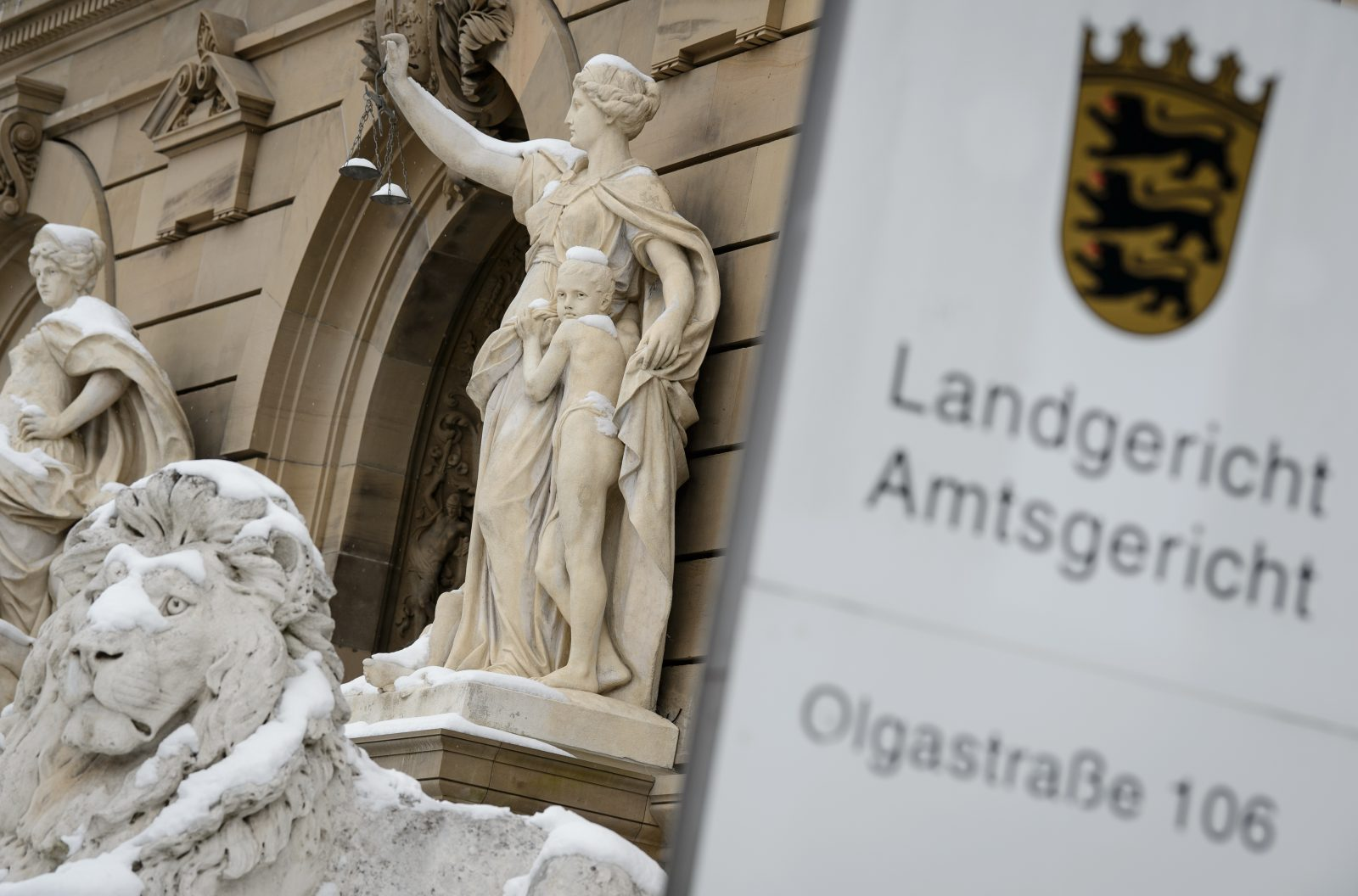 Landgericht Ulm Foto: dpa