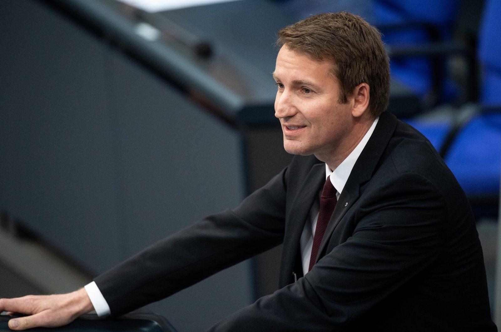 Der Präsident des Reservistenverbandes der Bundeswehr und CDU-Bundestagsabgeordnete, Patrick Sensburg Foto: picture alliance/Fabian Sommer/dpa